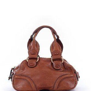 BCBGirls Brown Leather Satchel